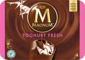 Magnum Yoghurt Fresh Familienpackung Eis <nobr>(4 St.)</nobr> - 8722700051220