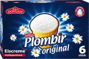 Dovgan Plombir Original Eiscreme Vanillegeschmack <nobr>(6 x 120 ml)</nobr> - 4032549002067