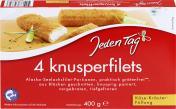 Jeden Tag Knusperfilets Käse-Kräuter <nobr>(400 g)</nobr> - 4306188049821