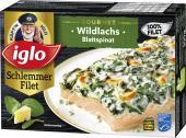 Iglo Feinschmecker Wildlachs mit Spinat <nobr>(300 g)</nobr> - 4250241204262