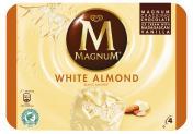 Magnum White Almond Eis <nobr>(4 St.)</nobr> - 8712100818714