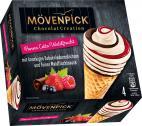 Mövenpick Eis Chocolat Creation Panna Cotta Waldfrucht Multipackung <nobr>(4 x 110 ml)</nobr> - 8000300353853