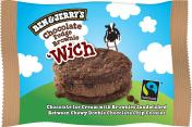 Ben & Jerry Wich Chocolate Fudge Brownie <nobr>(80 ml)</nobr> - 8712100858970