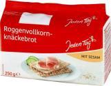 Jeden Tag Roggenvollkorn-Knäckebrot Sesam <nobr>(250 g)</nobr> - 4306188363774
