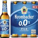 Krombacher Pils 0,0% alkoholfrei <nobr>(6 x 0,33 l)</nobr> - 4008287914504