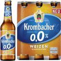 Krombacher Weizen 0,0% alkoholfrei <nobr>(6 x 0,33 l)</nobr> - 4008287914474