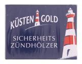 Küstengold Sicherheitszündhölzer (3 x 100 pk) - 4250426213430