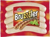 Wiesenhof Bruzzzler Bratwurst extra-würzig <nobr>(400 g)</nobr> - 4019467467307