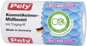 Pely Kosmetikeimer-Müllbeutel mit Griff 5 Liter <nobr>(40 St.)</nobr> - 4007519085005