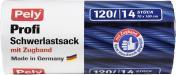 Pely Profi-Schwerlastsäcke mit Zugband 120 Liter <nobr>(14 St.)</nobr> - 4007519085586