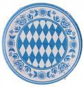 Duni Pappteller 22cm Bayernraute <nobr>(1 St.)</nobr> - 7321011644155