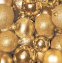 Duni Servietten Tissue 33x33cm Gold & Glitter - 7321011787869