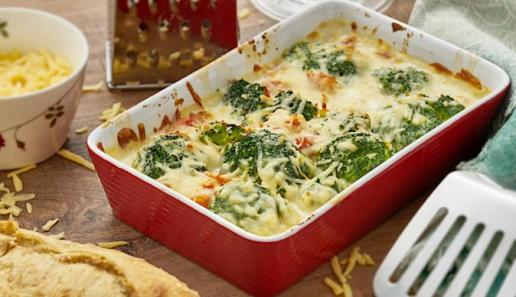 Broccoli-Gratin Rouge