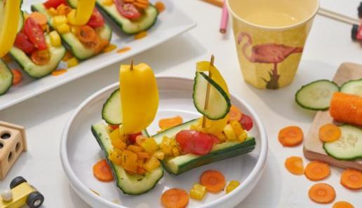 Wikinger-Salatschiffchen