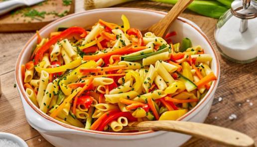 Gemüse-Nudelsalat