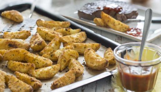 Knusper-Kartoffeln aus dem Ofen