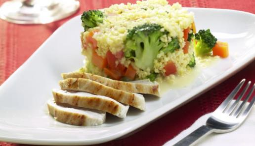 Bunte Gemüse-Hirse-Pfanne