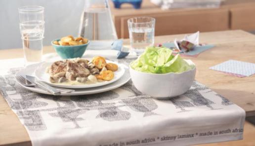 Schweinemedaillons in Champignon-Sauce mit Bratkartoffeln