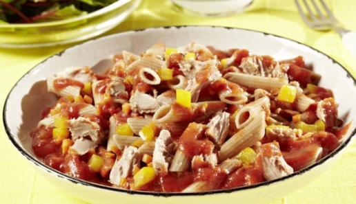 Thunfisch-Gemüse-Nudeln
