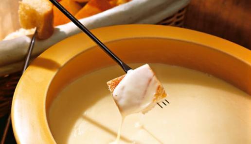 Klassisches Käse-Fondue