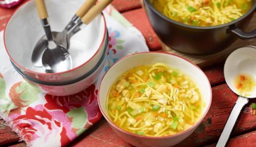 Currysuppe mit Cashewkernen